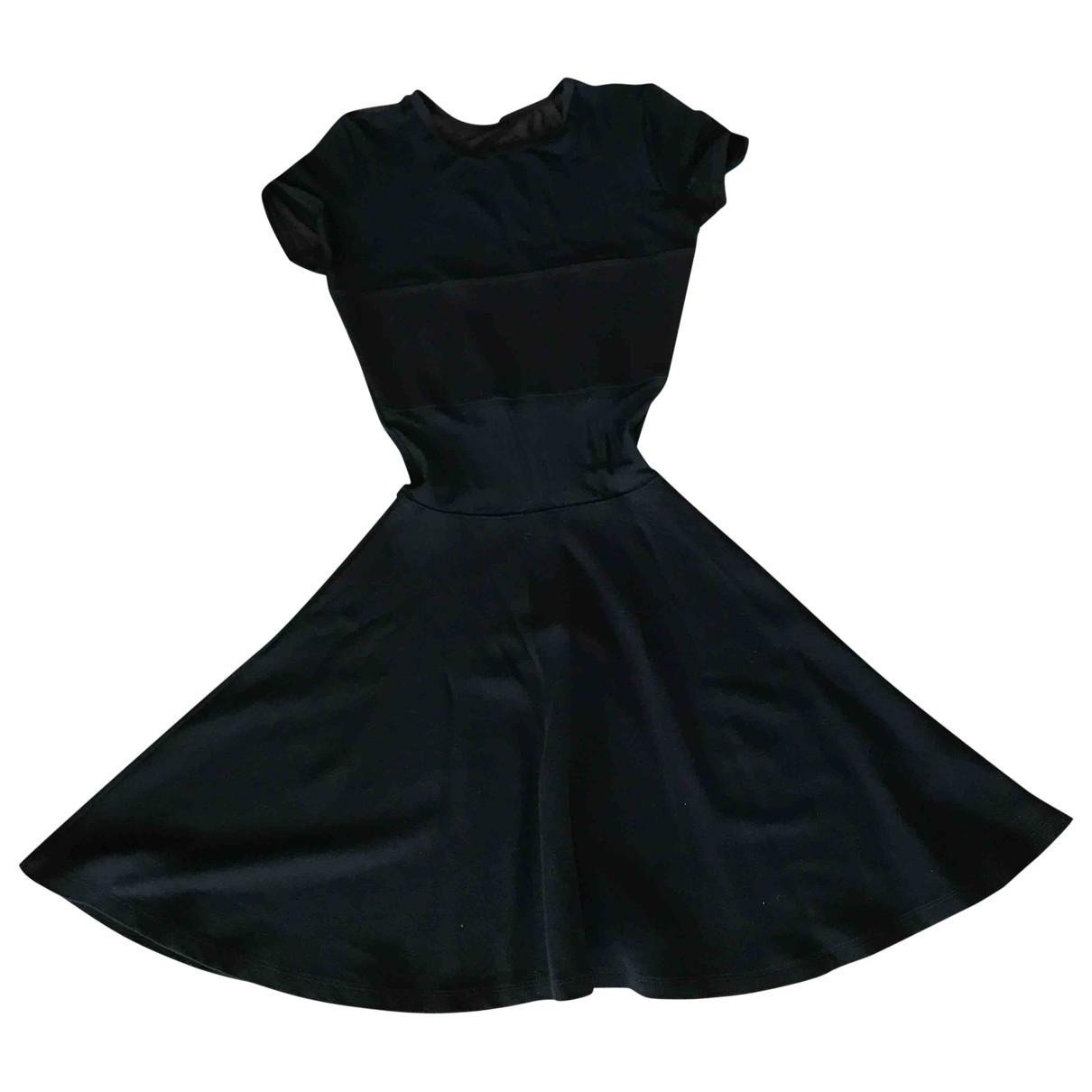 American Apparel \N Kleid in  Schwarz Viskose