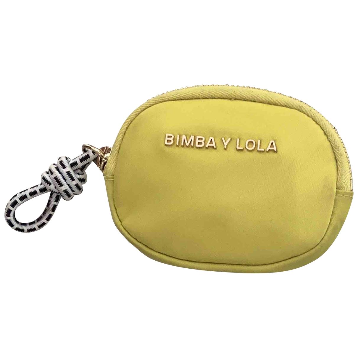 Bimba Y Lola - Pochette   pour femme - jaune