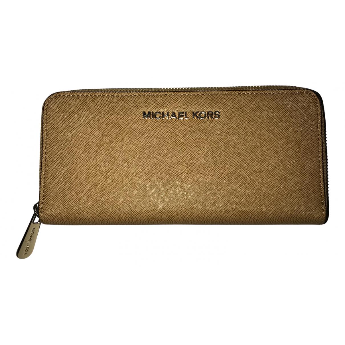 Michael Kors N Camel Leather wallet for Women N