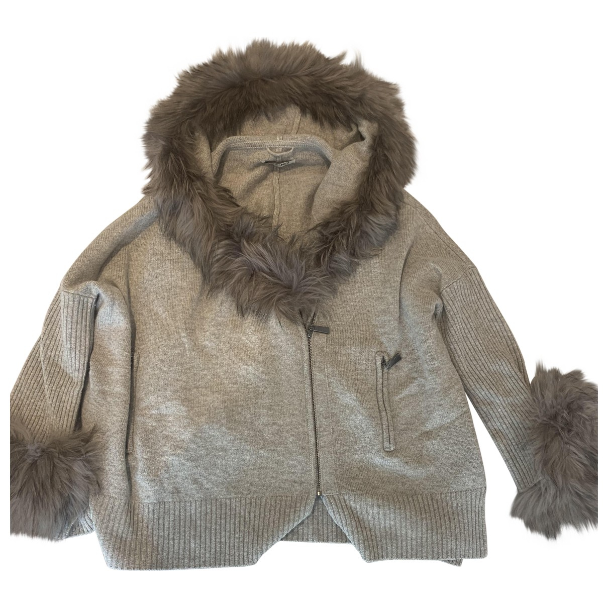 Max & Moi \N Pullover in  Beige Wolle