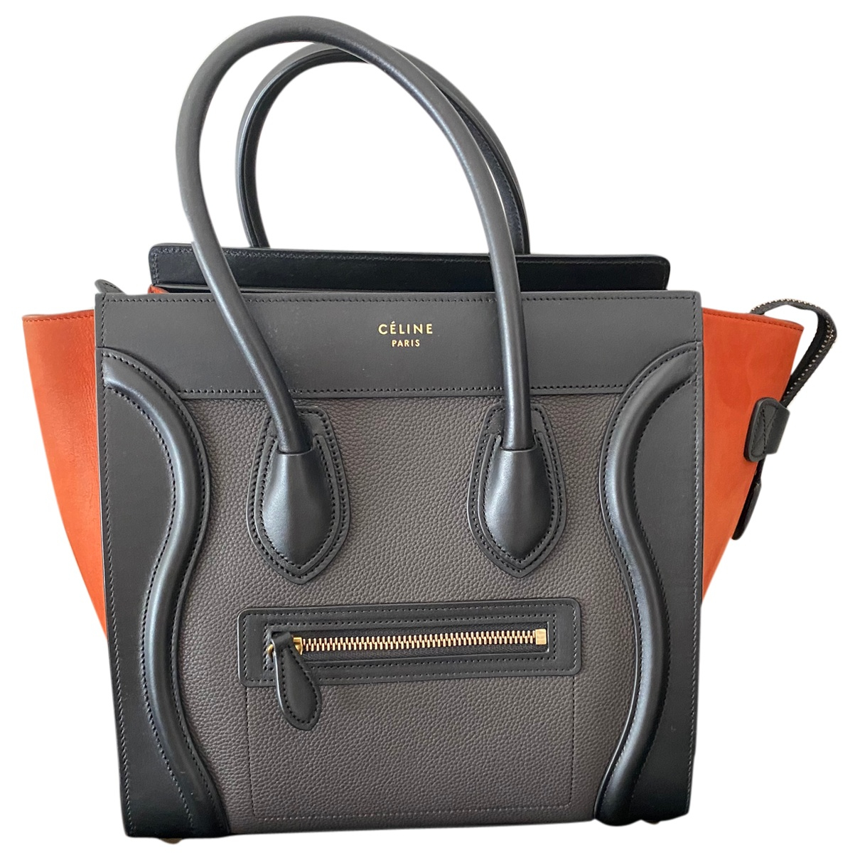 Celine Luggage Multicolour Leather handbag for Women \N
