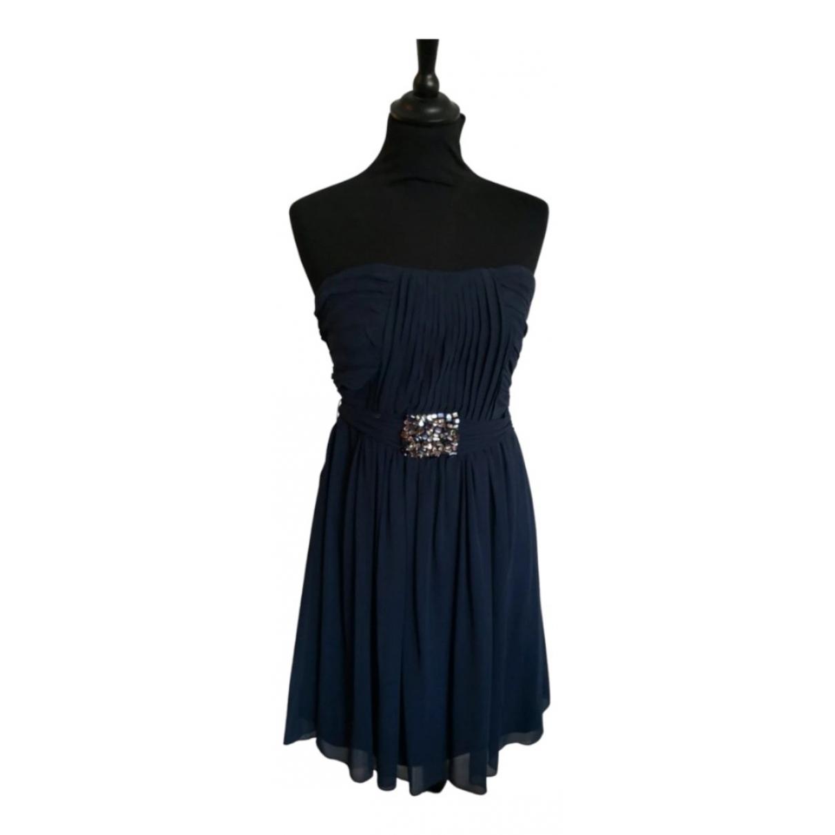 La Perla \N Kleid in  Marine Seide