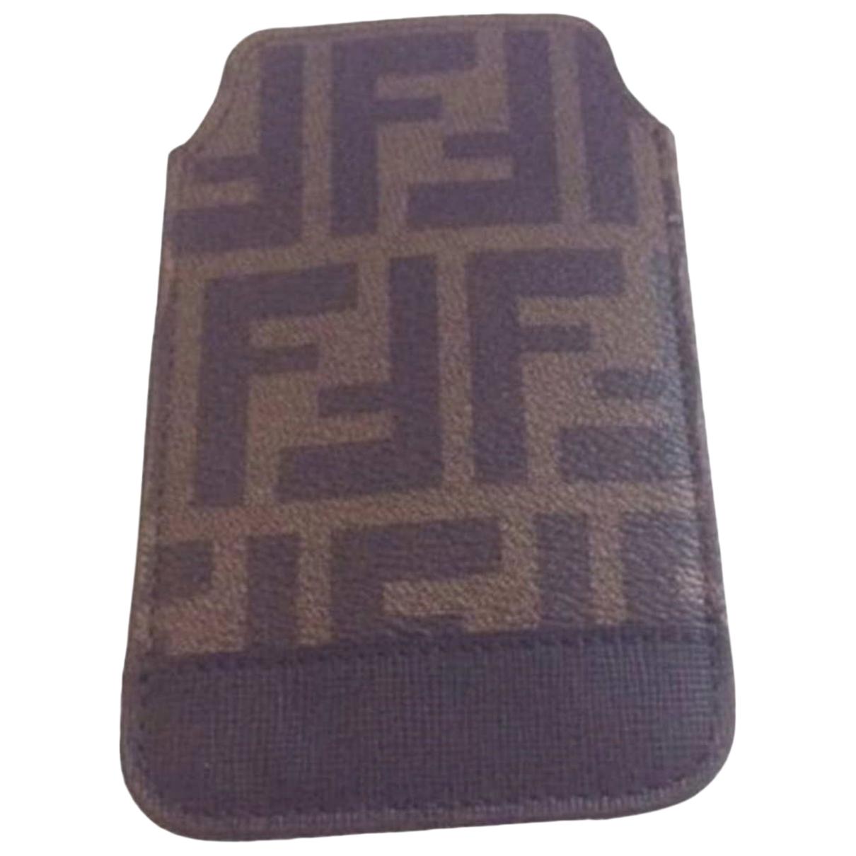 Fendi \N Brown Cloth Accessories for Life & Living \N