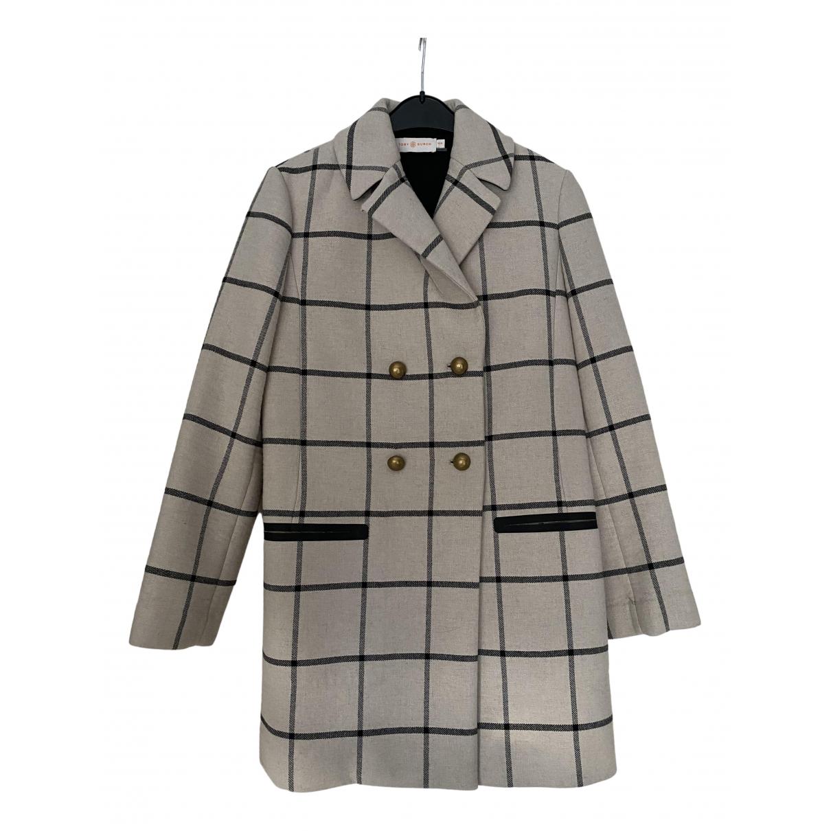 Tory Burch N Ecru coat for Women M International