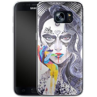 Samsung Galaxy S7 Silikon Handyhuelle - Janus von Minjae Lee