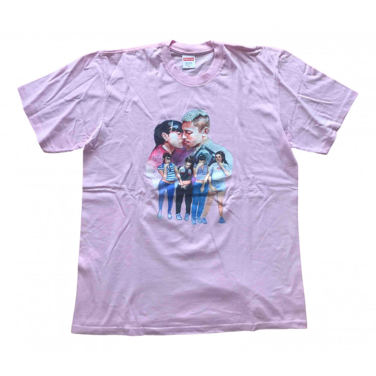 Supreme - Top   pour femme en coton - rose