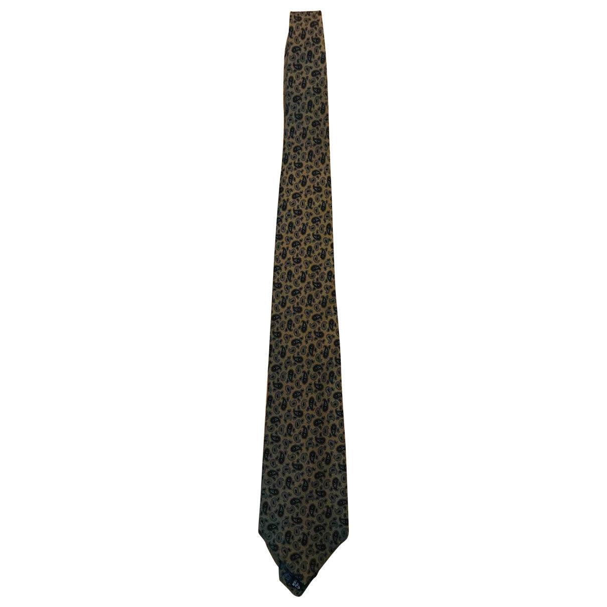 Cerruti - Cravates   pour homme en soie - vert