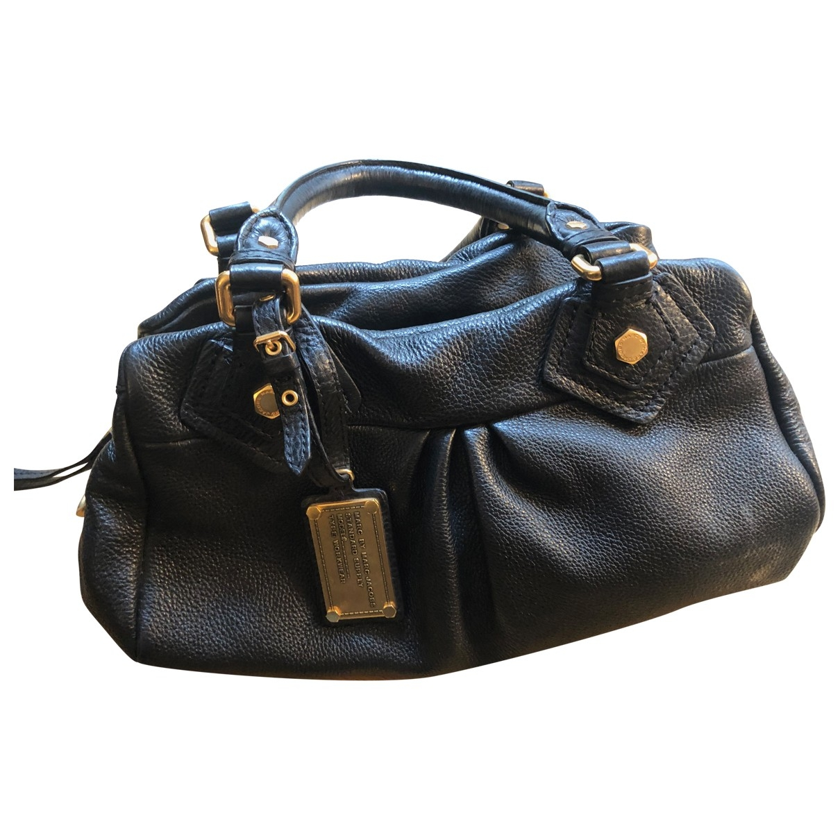 Marc By Marc Jacobs Classic Q Black Leather handbag for Women \N