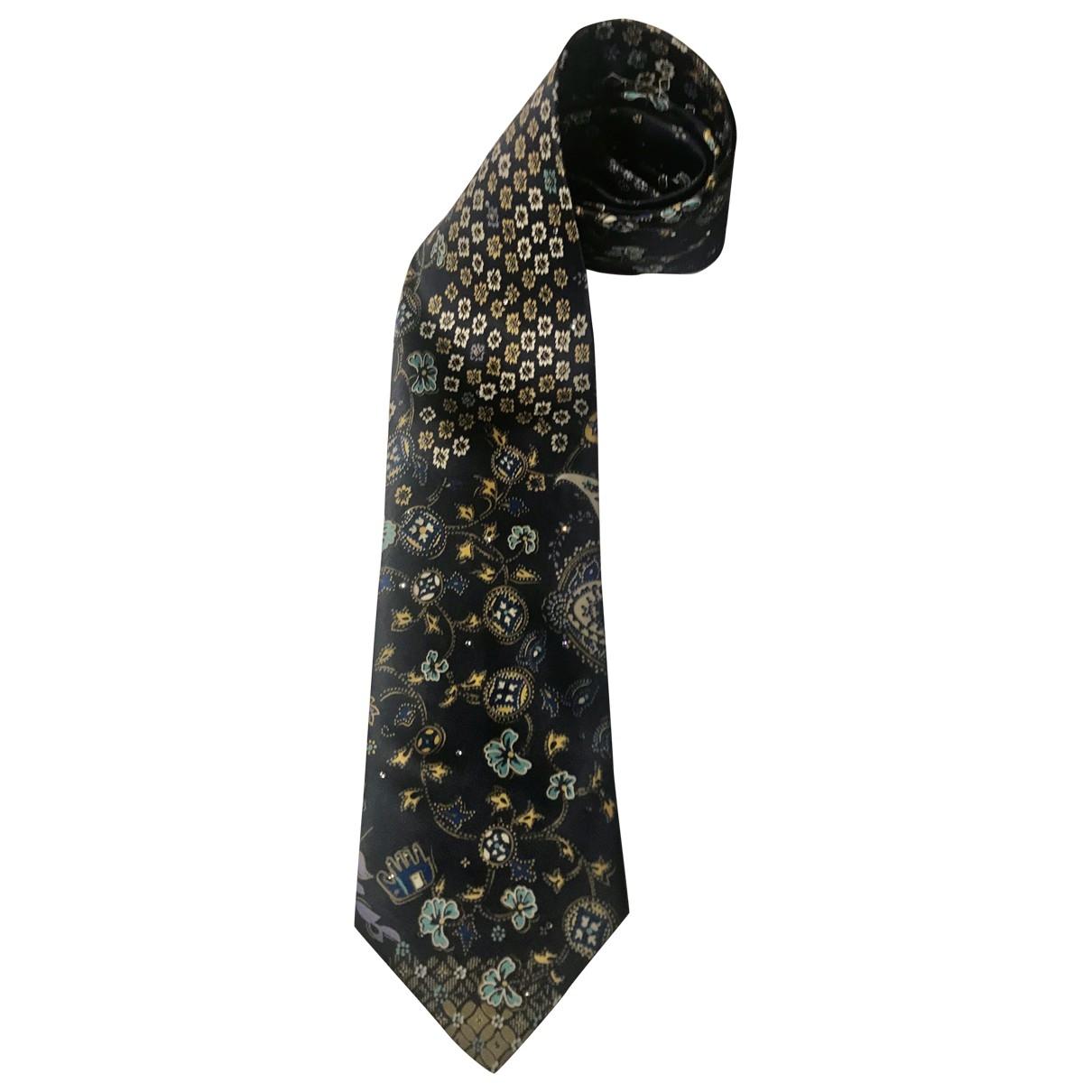 Brioni \N Krawatten in  Blau Seide