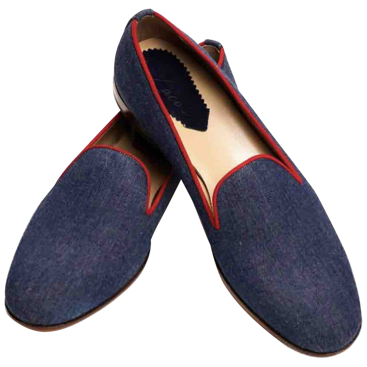 Non Signé / Unsigned \N Denim - Jeans Flats for Men 44 EU