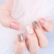 Glitter gefaelschter Nagel