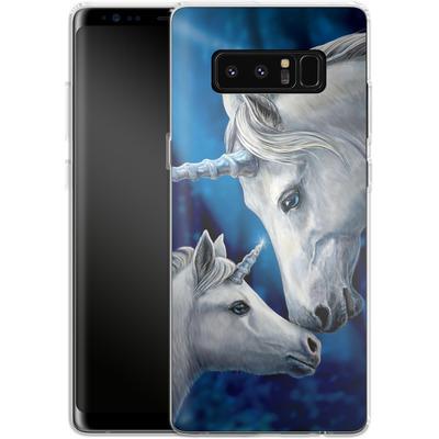 Samsung Galaxy Note 8 Silikon Handyhuelle - Sacred Love von Lisa Parker