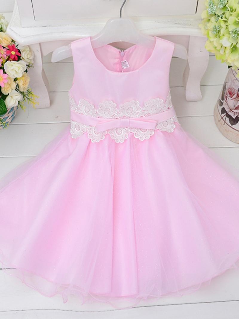 Ericdress Plain Ball Gown Princess Girls Dress