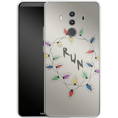 Huawei Mate 10 Pro Silikon Handyhuelle - RUN von caseable Designs