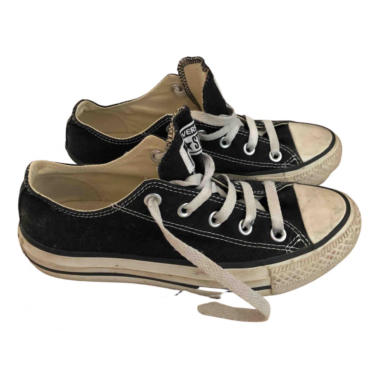 Converse \N Sneakers in  Schwarz Kautschuk