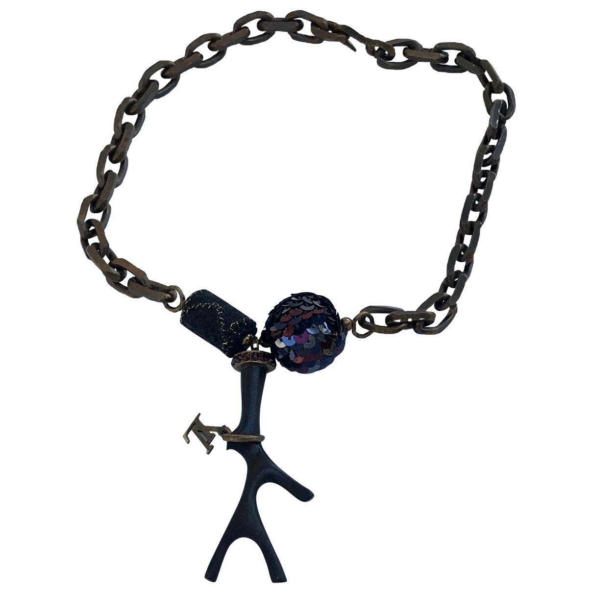 Louis Vuitton - Collier   pour femme en metal