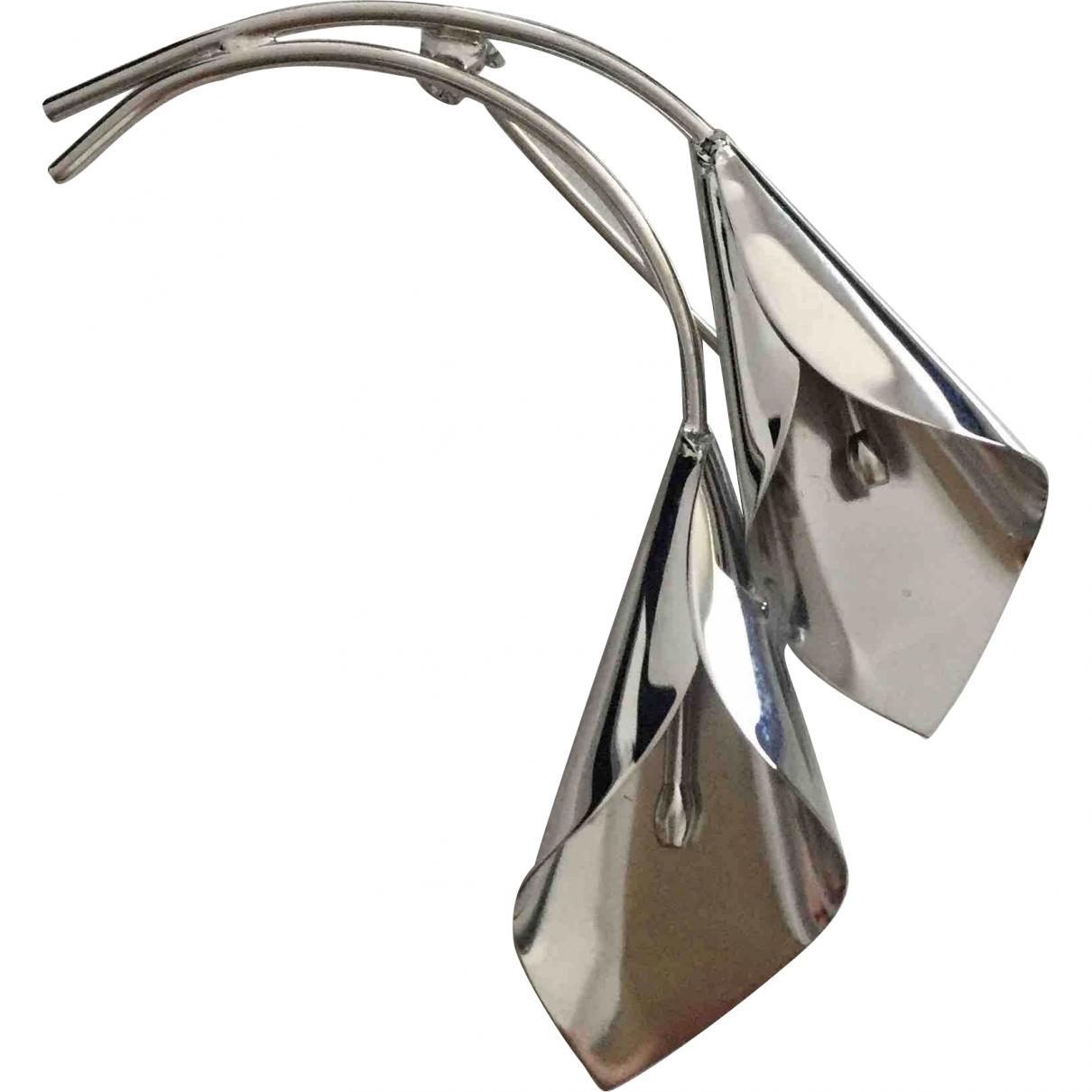 Les Hommes \N Silver Steel Jewellery for Men \N