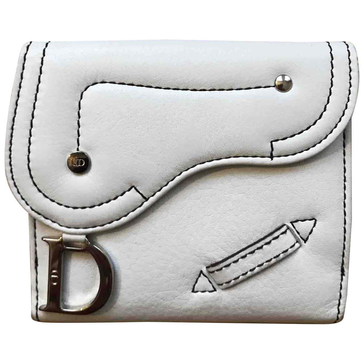 Cartera Saddle de Cuero Dior