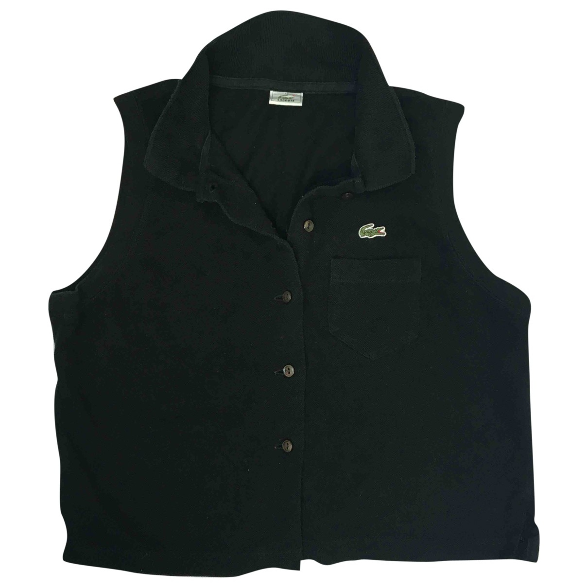 Lacoste \N Black Cotton  top for Women 42 FR