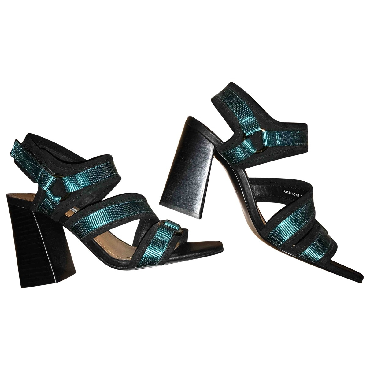 & Stories \N Turquoise Cloth Heels for Women 36 EU