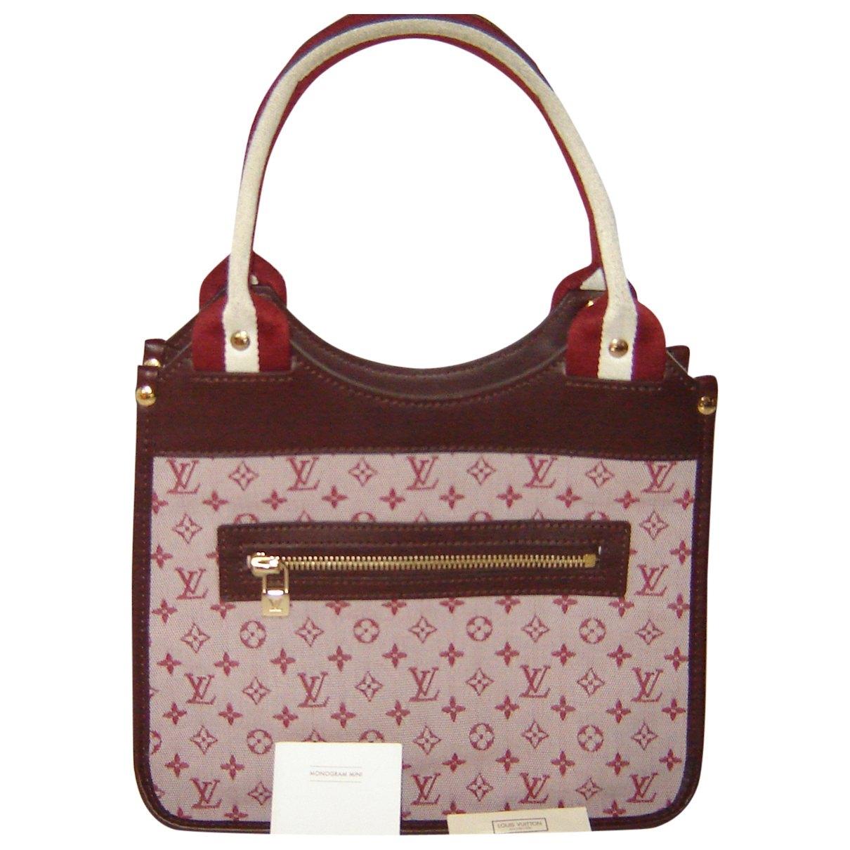Louis Vuitton - Sac a main Kathleen pour femme en toile - bordeaux