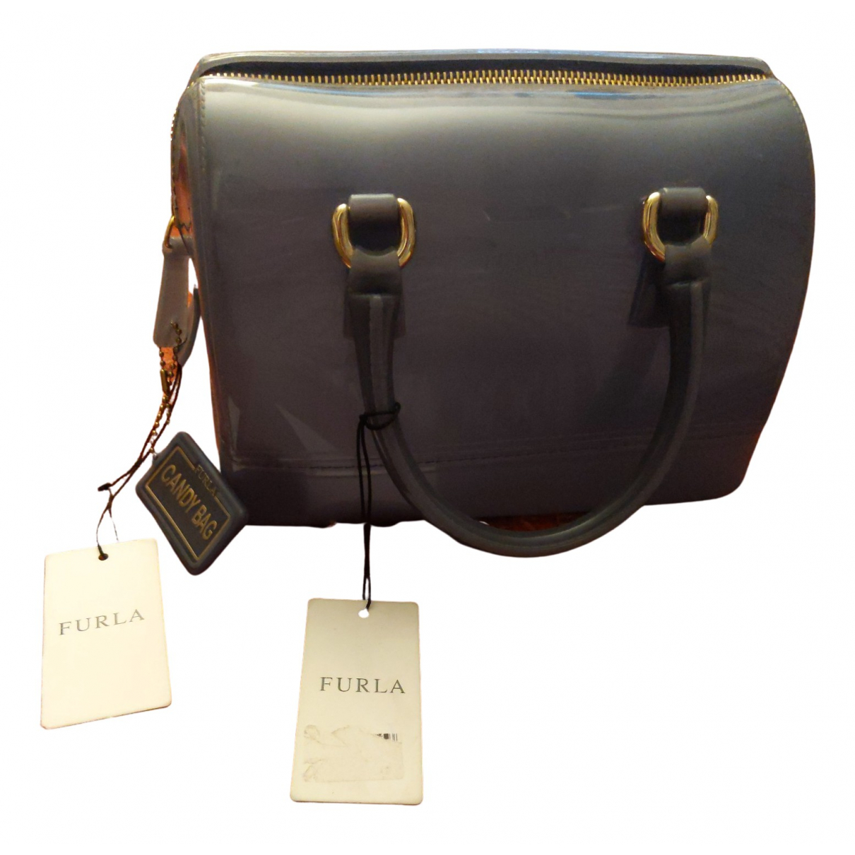Furla - Sac a main Candy Bag pour femme - bleu
