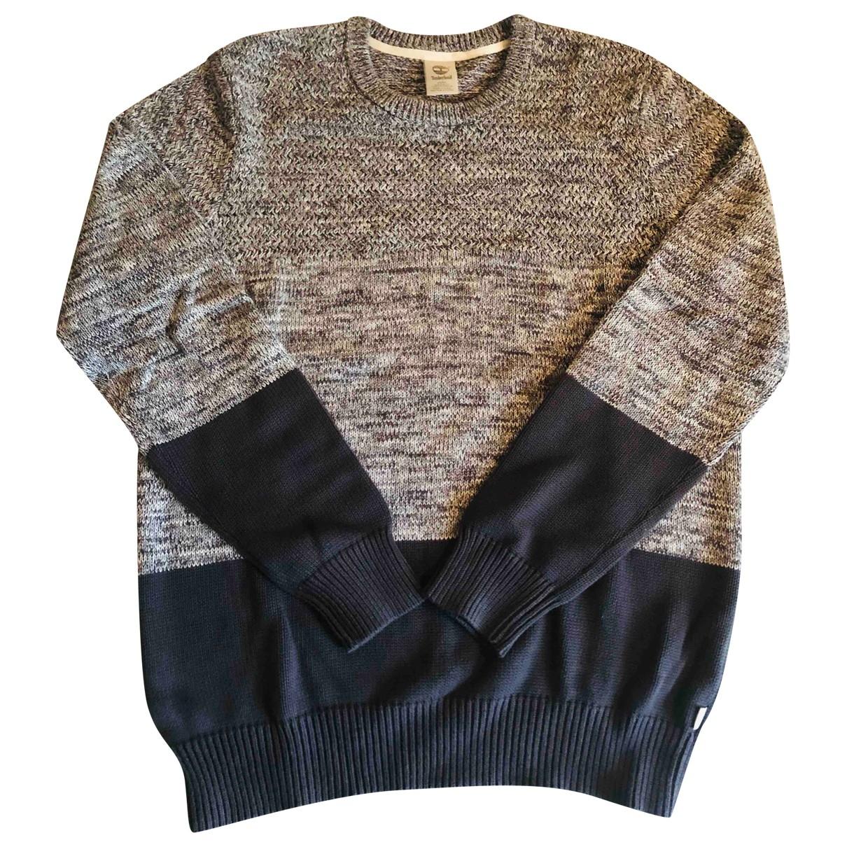 Timberland \N Pullover.Westen.Sweatshirts  in  Braun Baumwolle
