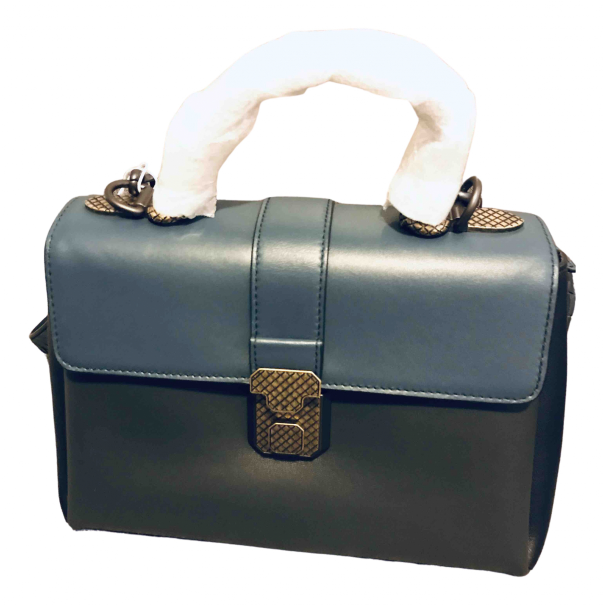 Bottega Veneta Piazza Blue Leather handbag for Women \N