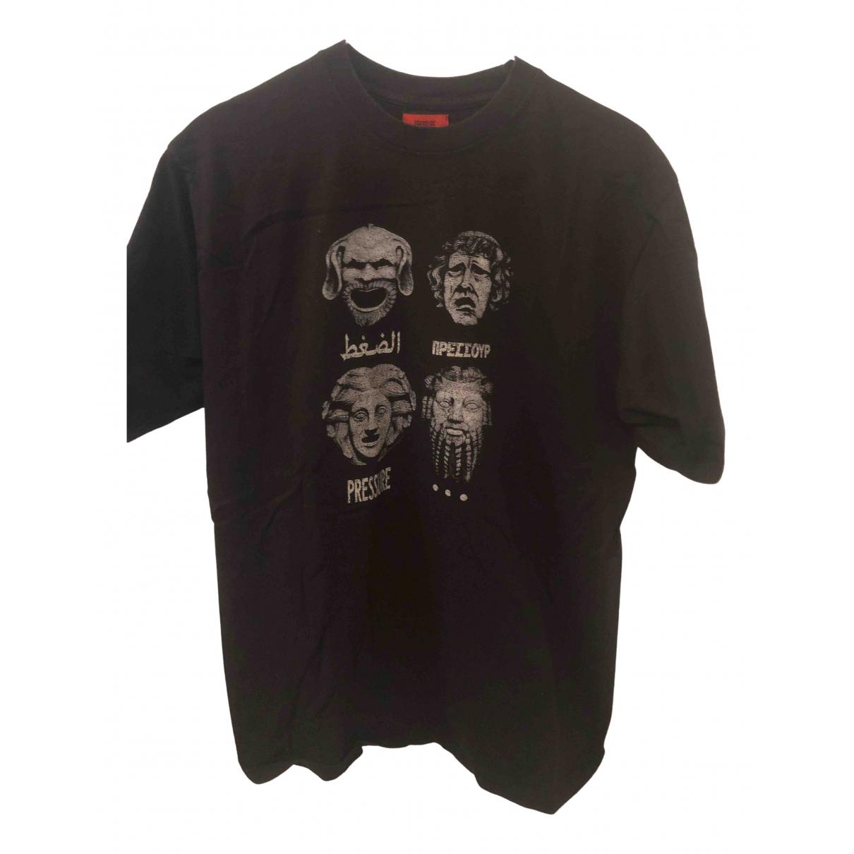 Pressure - Tee shirts   pour homme en coton - noir