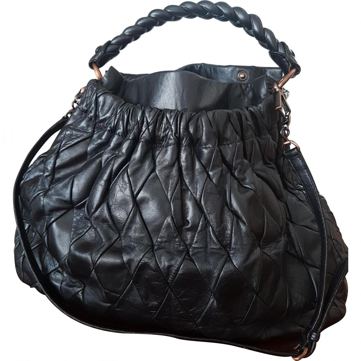 Miu Miu \N Blue Leather handbag for Women \N