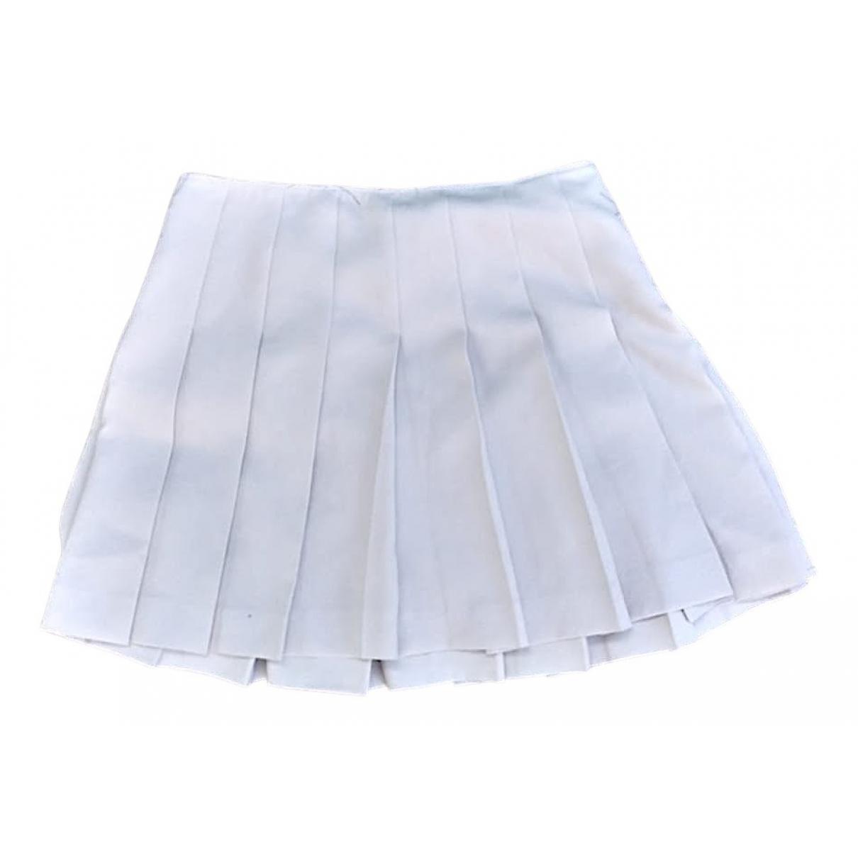 Miu Miu \N Rocke in  Weiss Polyester