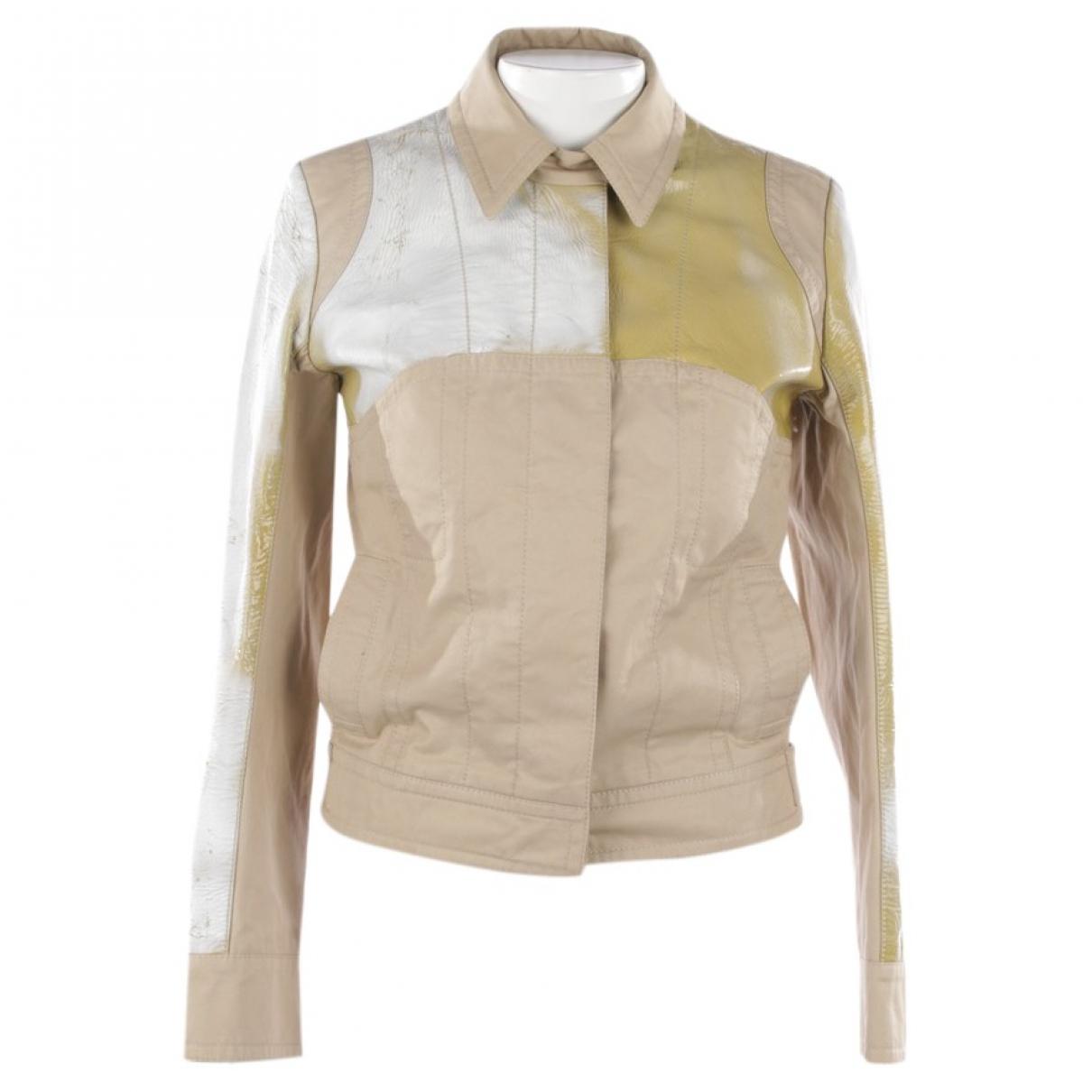 Louis Vuitton - Veste   pour femme en coton - beige