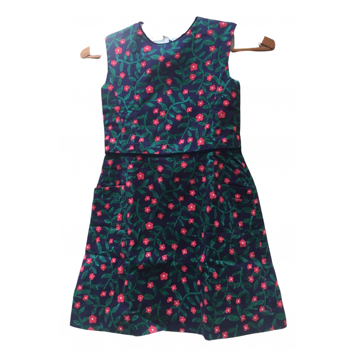 Oscar De La Renta N Blue Cotton dress for Kids 8 years - up to 128cm FR