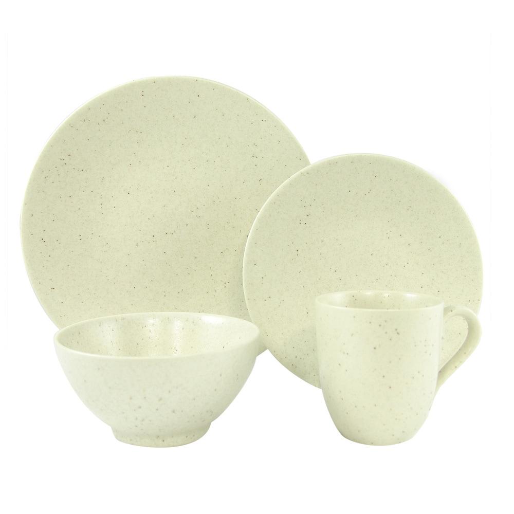 Oatmeal White 16pc. Set (Cream - 16 Piece)
