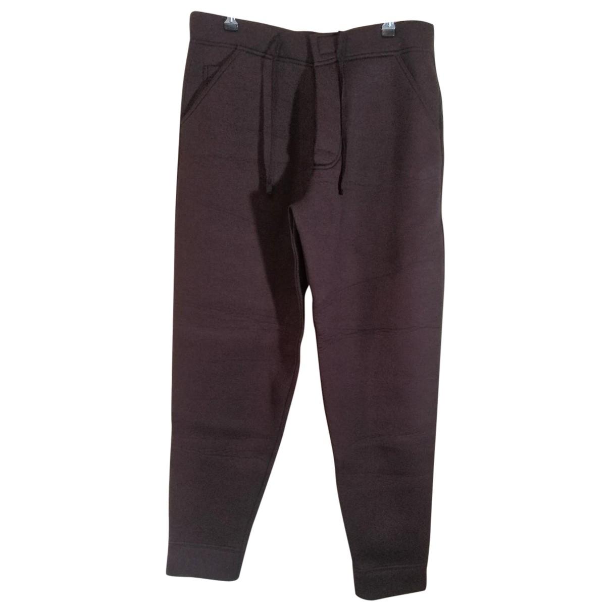 Kenzo \N Burgundy Trousers for Men M International