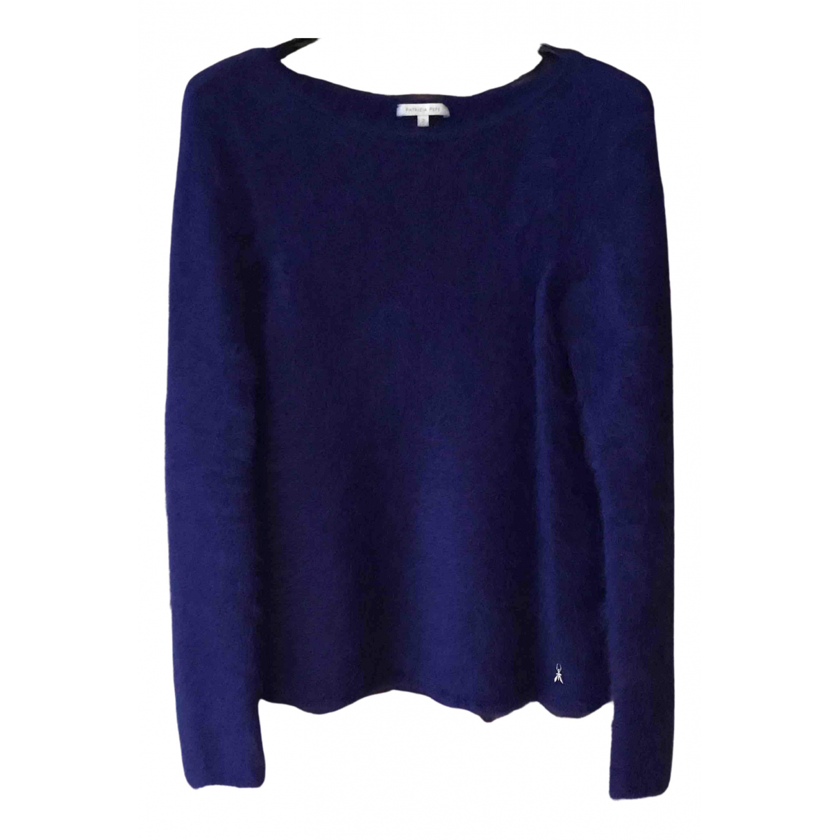 Patrizia Pepe N Blue Wool Knitwear for Women 38 FR