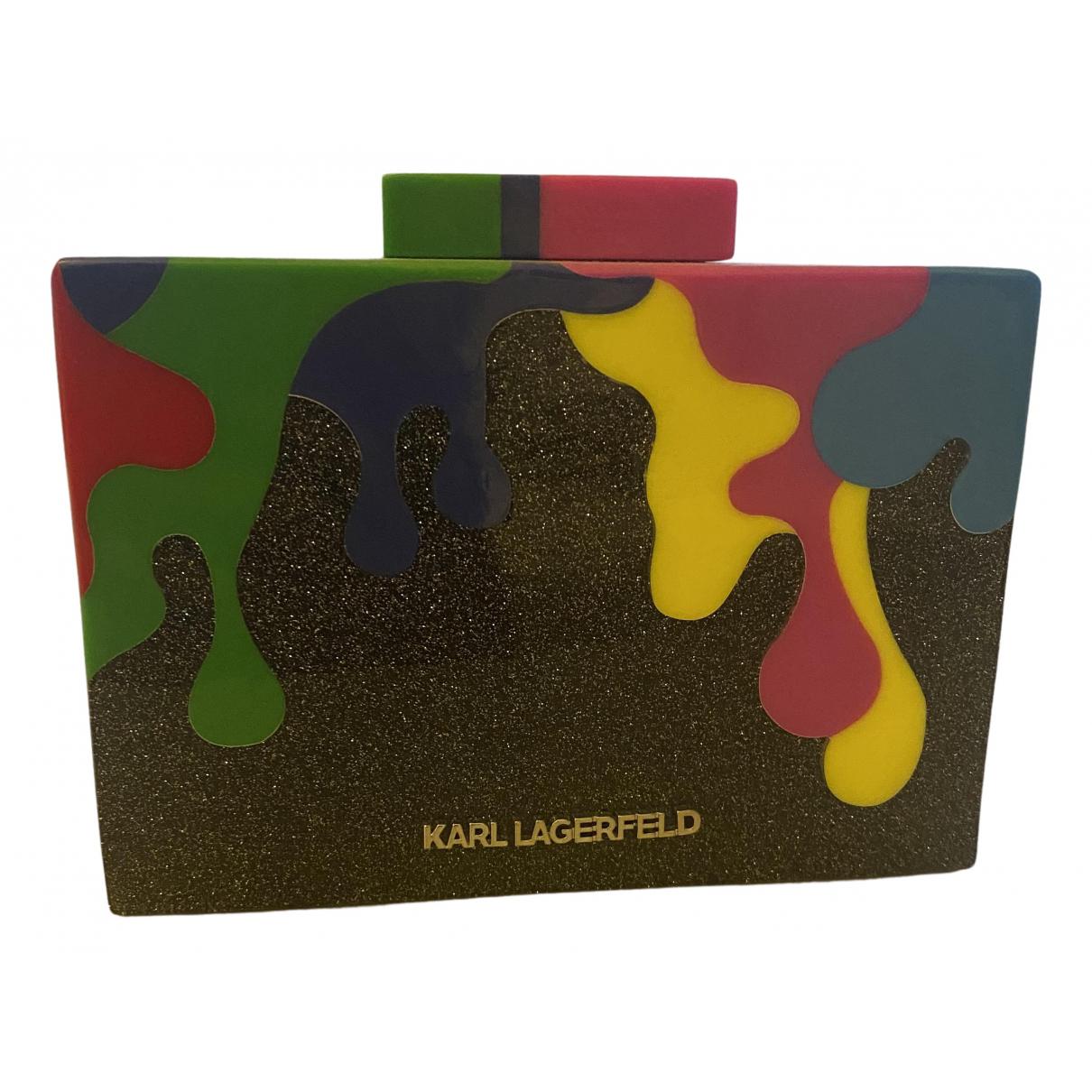 Pochette de Con lentejuelas Karl Lagerfeld