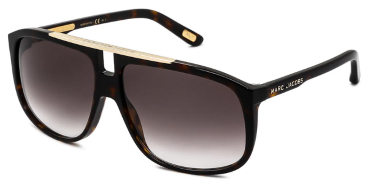 Marc Jacobs MJ 252/S 086/JS Mens Sunglasses Tortoise Size 60