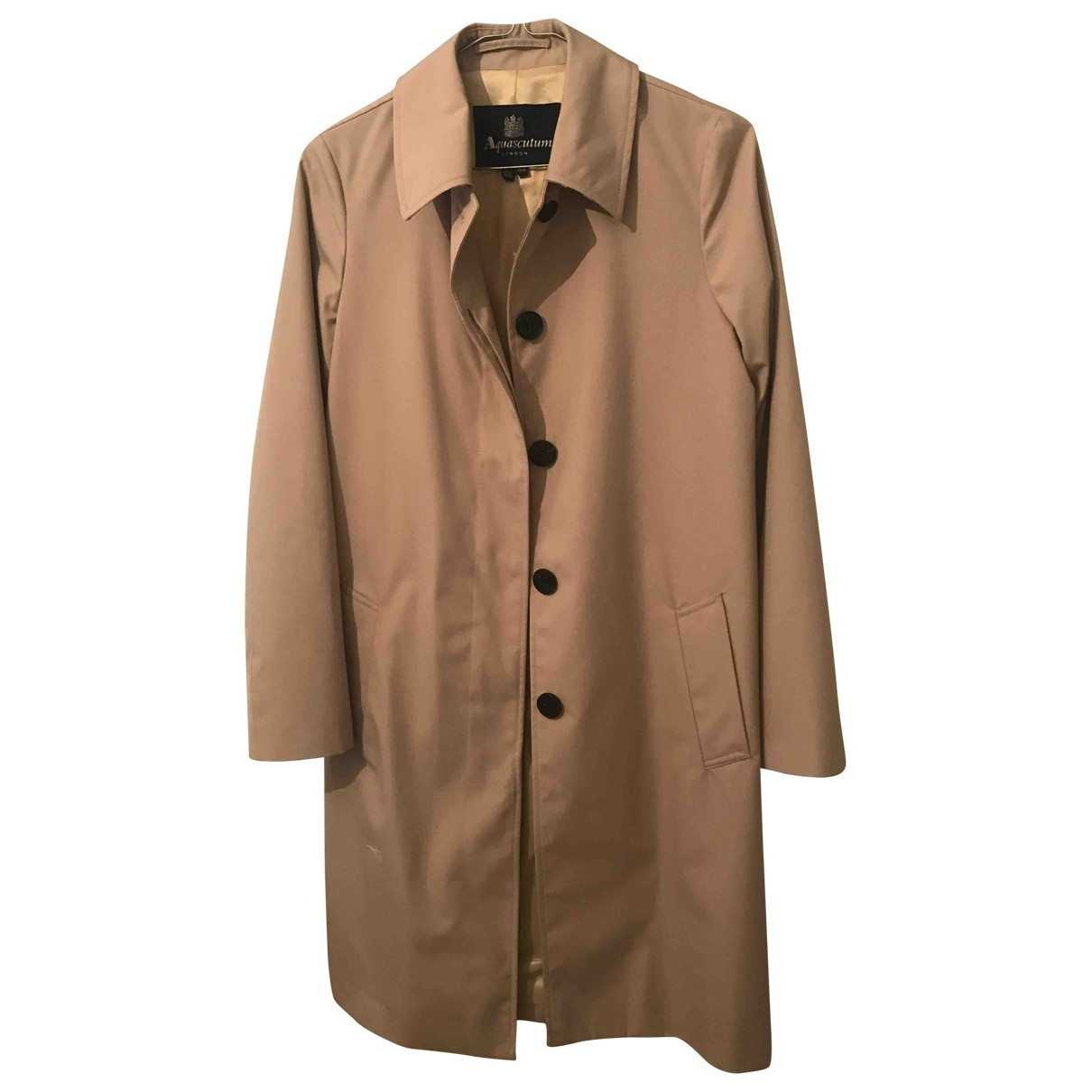 Aquascutum \N Camel jacket for Women 4 UK