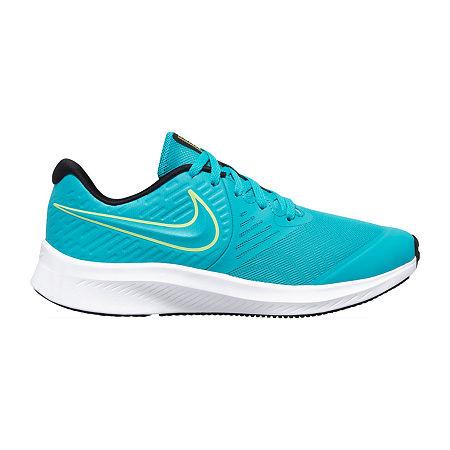 Nike Star Runner 2 Little Kid/Big Kid Boys Running Shoes, 6 Medium, Blue