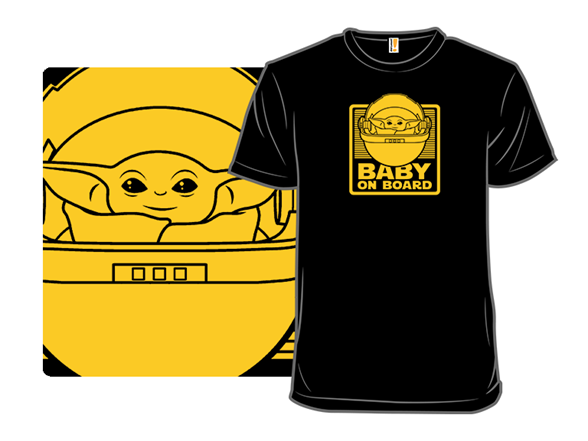 50 Year-old Baby On Board T Shirt