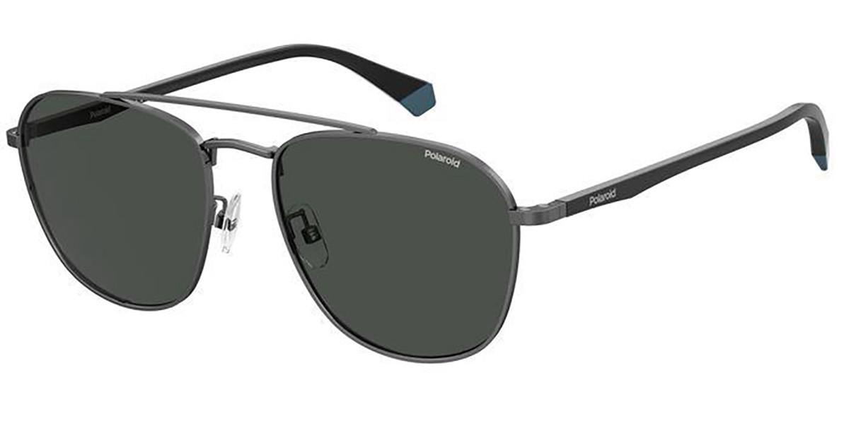 Polaroid PLD 2106/G/S V81/M9 Men's Sunglasses Grey Size 57