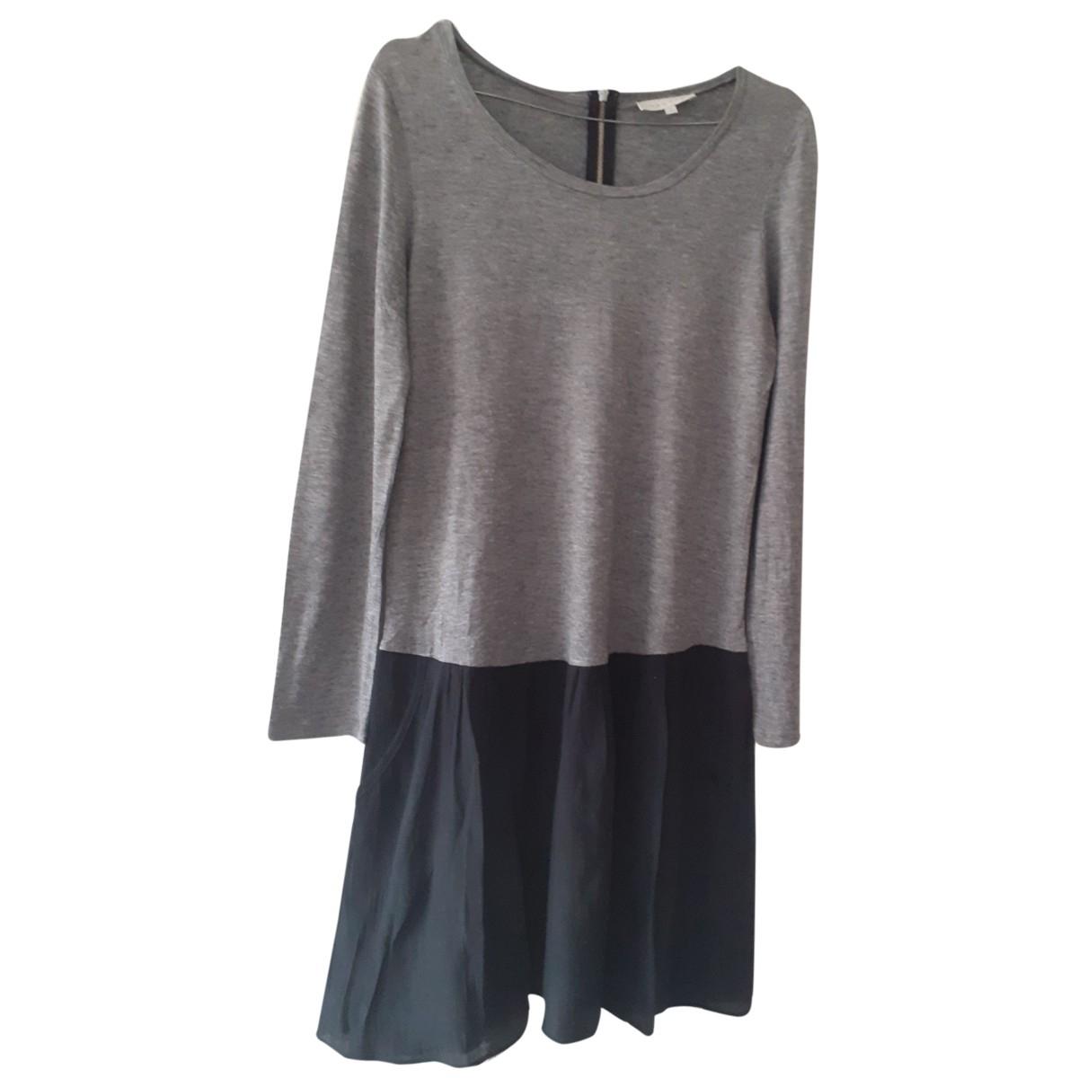 Sandro \N Kleid in  Bunt Wolle
