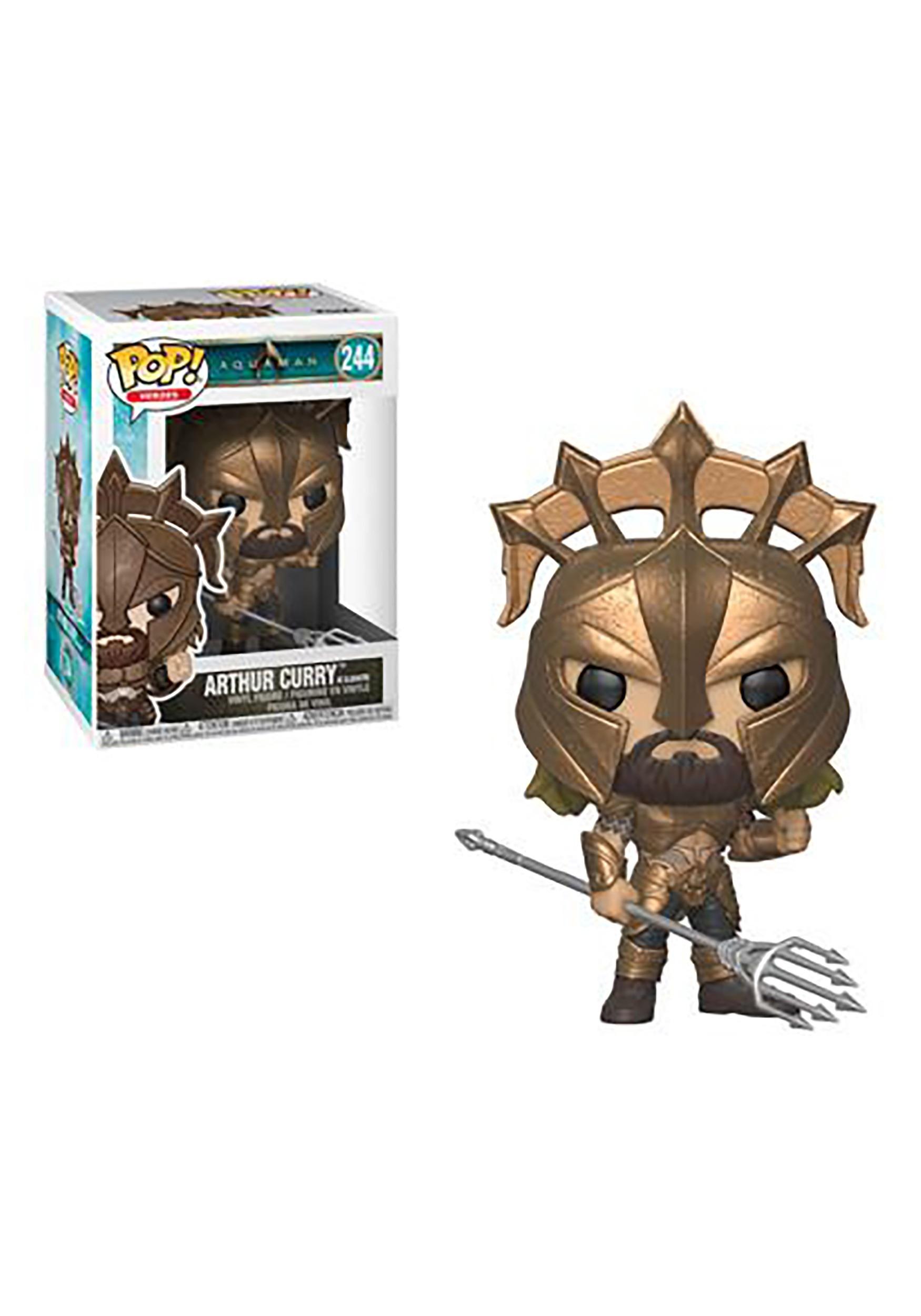 Pop! Heroes: Arthur Curry as Gladiator- Aquaman