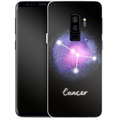 Samsung Galaxy S9 Plus Silikon Handyhuelle - CANCER von Becky Starsmore