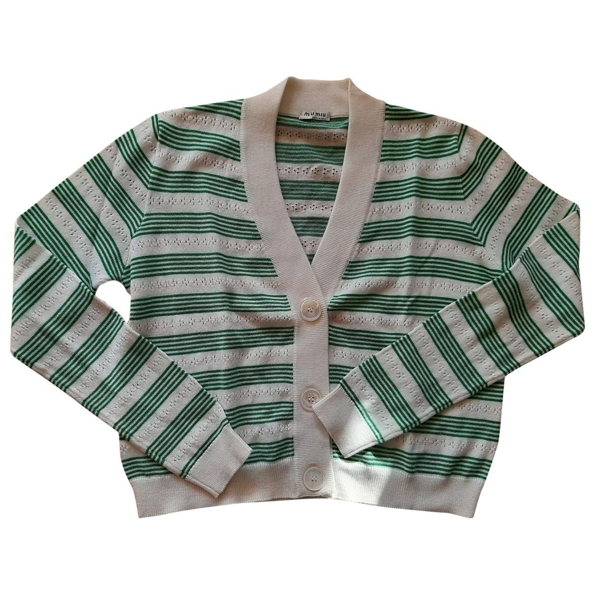Miu Miu \N Pullover in  Bunt Wolle