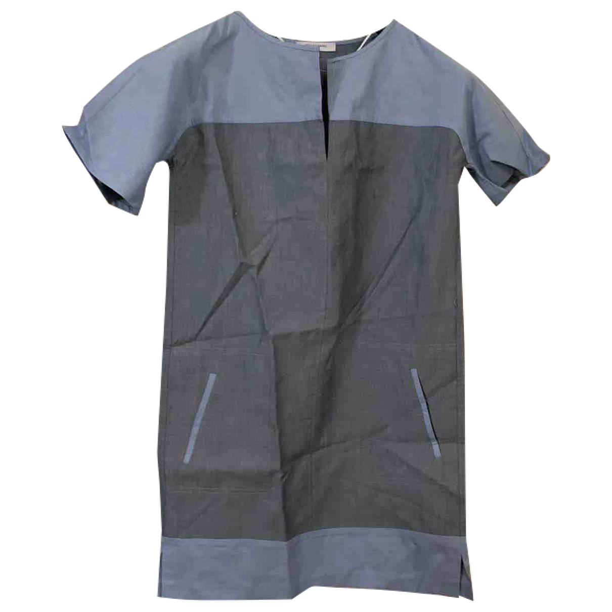 Gerard Darel \N Kleid in  Grau Baumwolle