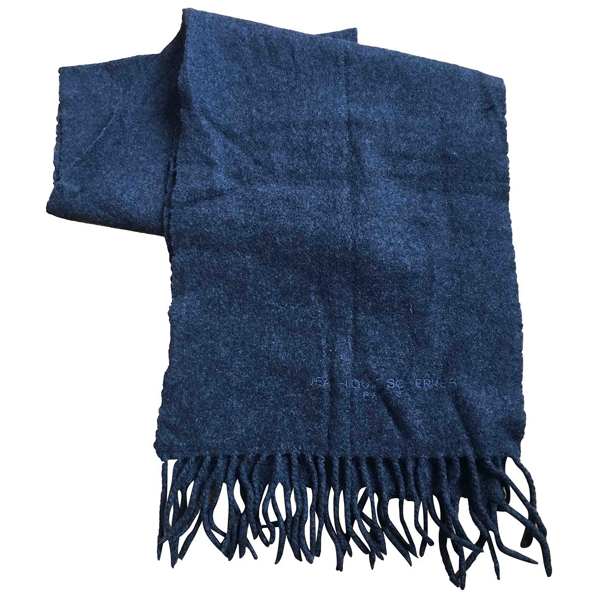 Jean-louis Scherrer N Anthracite Wool scarf & pocket squares for Men N