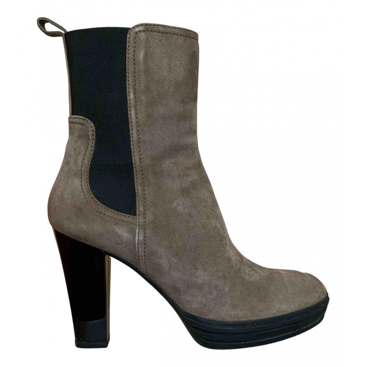 Hogan - Boots   pour femme en suede