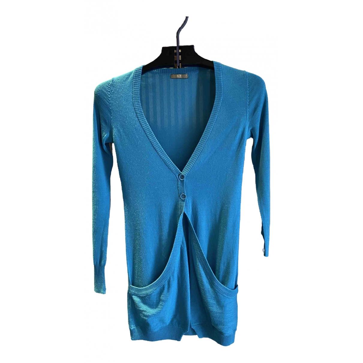 Iceberg \N Navy Wool Knitwear for Women XS International